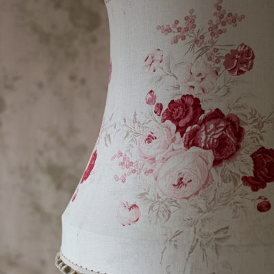 Kate Forman Red Roses Tailored Lampshade 03