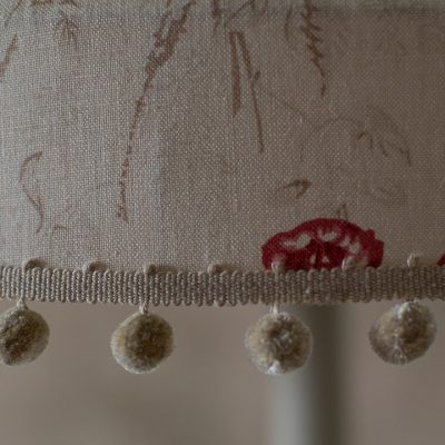 Kate Forman Red Roses Tailored Lampshade 04