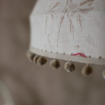 Kate Forman Red Roses Tailored Lampshade 06
