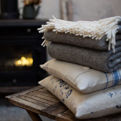 Cushions & Throws by Helen Izzard