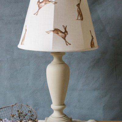 Traditional Tailored French Drums Lampshades